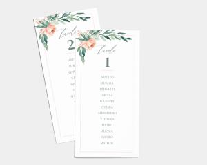 Gilded Botanical - Segnaposto Set de 1 - 10