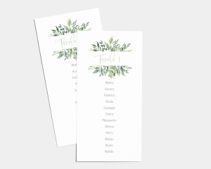 Leaves - Segnaposto Set de 1 - 10