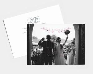 Together - Biglietto di ringraziamento matrimonio