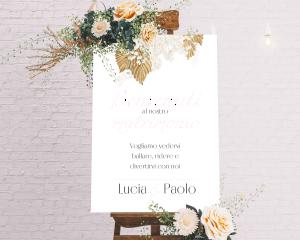 Ivory Luna - Cartello di benvenuto (verticale)