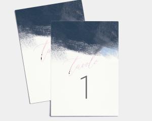 Modern Brushstroke - Cartoncini tableau Set 1 - 10