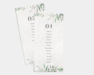 Natural Laurel - Segnaposto Set de 1 - 10