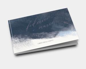 Modern Brushstroke - Guest book