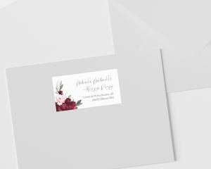 Beloved Floral - Etichette degli indirizzi