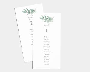 Lush Greenery - Segnaposto Set de 1 - 10