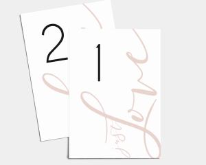 Just - Cartoncini tableau Set 1 - 10