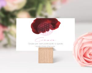 Flower of Life - Biglietto di ringraziamento