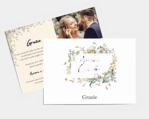 Fairytale - Biglietto di ringraziamento matrimonio