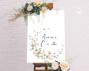 Fairytale - Cartello di benvenuto (verticale)