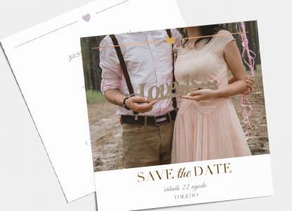 Biglietti Save the Date