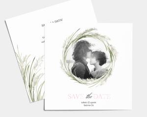 Erba della Pampas - Save the Date (quadrato)