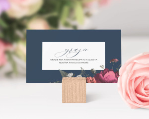 Blooming Botanical - Biglietto di ringraziamento