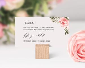 Aurora - Biglietto lista nozze