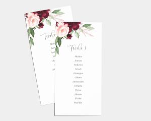 Beloved Floral - Segnaposto Set de 1 - 10