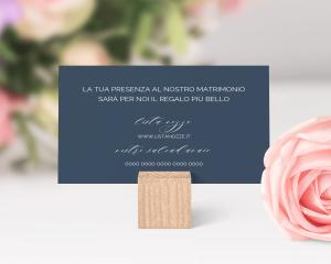 Blooming Botanical - Biglietto lista nozze