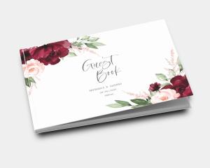 Beloved Floral - Guest book