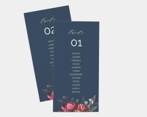 Blooming Botanical - Segnaposto Set de 1 - 10