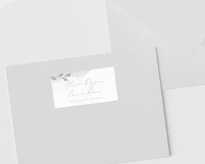 Dusted Calligraphy - Etichette degli indirizzi